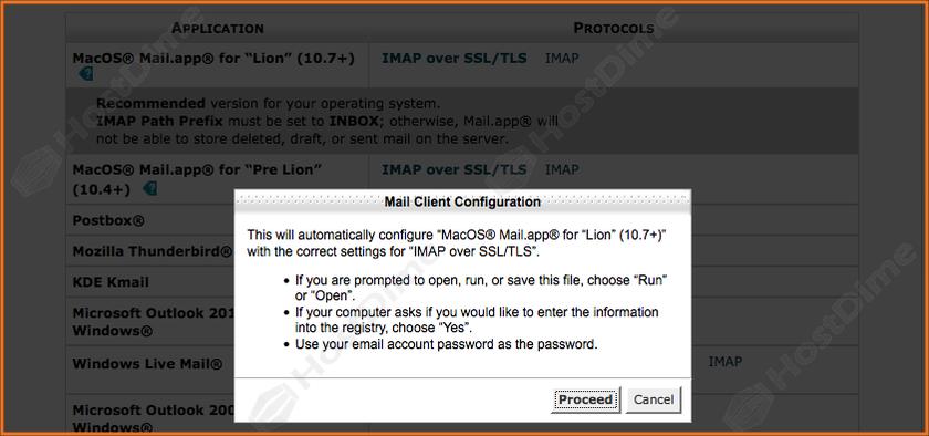 confirmacion descarga script cuenta de correo en mac os x