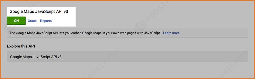 resumen api activada google maps