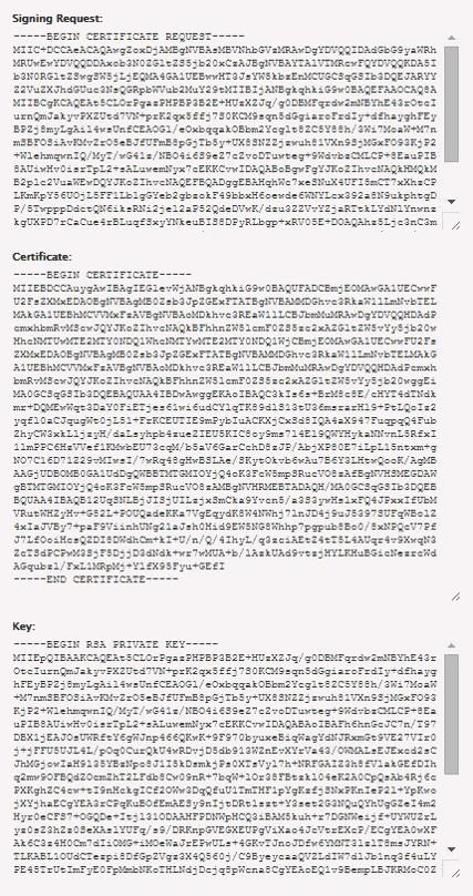 generar certificado ssl en whm